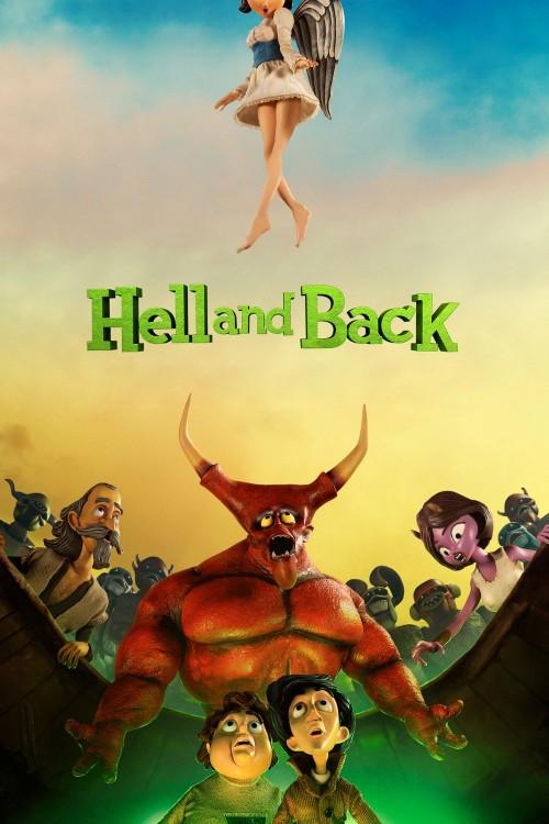 دانلود انیمیشن Hell and Back 2015 دوبله فارسی