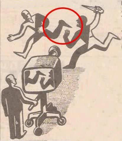 ⭕️وارونه نمایی در رسانه ها