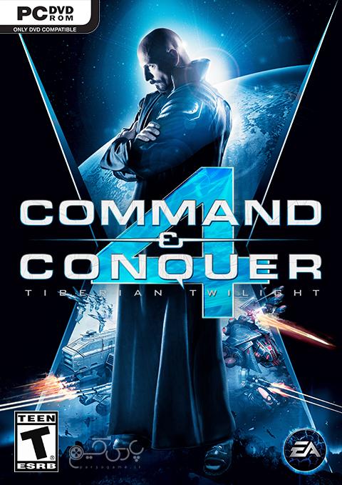 دانلود بازی Command And Conquer 4 Tiberian Twilight برای کامپیوتر