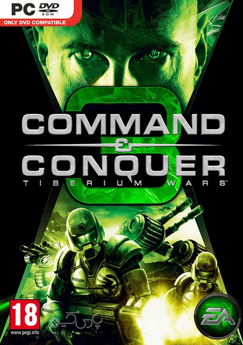 دانلود بازی Command and Conquer 3 Tiberium Wars برای کامپیوتر