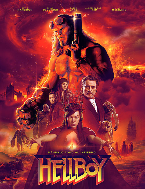 دانلود رایگان فیلم پسر جهنمی ۳ با دوبله فارسی Hellboy 2019 BluRay