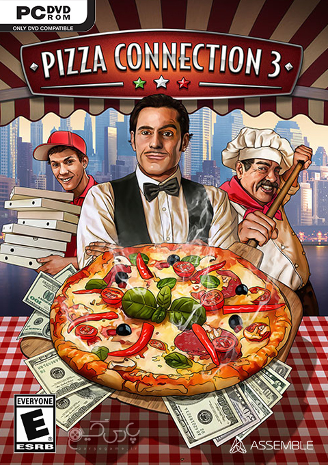 دانلود بازی Pizza Connection 3 برای کامپیوتر
