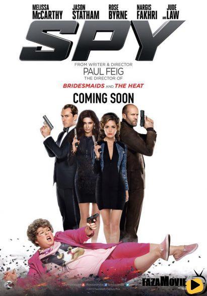 دانلود رایگان فیلم جاسوس Spy 2015 با دوبله