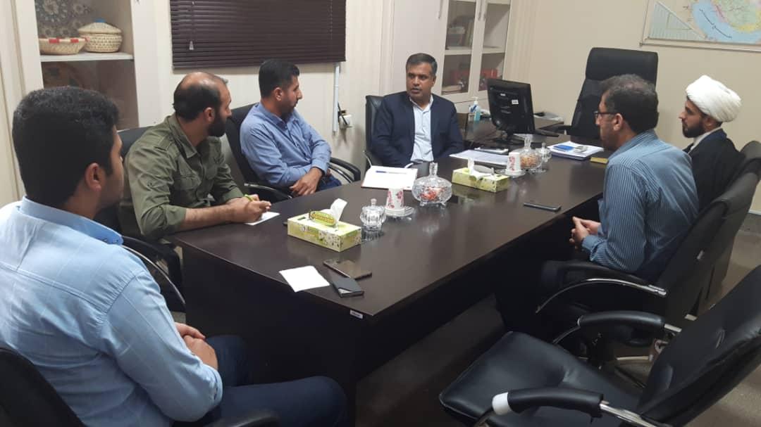 صبح امروز برگزار شد؛ جلسه نماینده مدیرکل امور روستایی با مسئولین گروه های جهادی در استانداری بوشهر