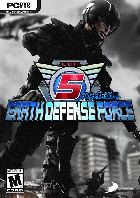 دانلود بازی Earth Defense Force 5 برای کامپیوتر