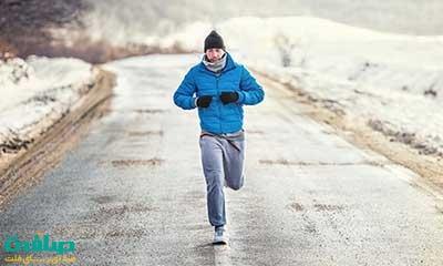 ورزش کردن در هوای سرد کالری بیشتری می سوزاند
