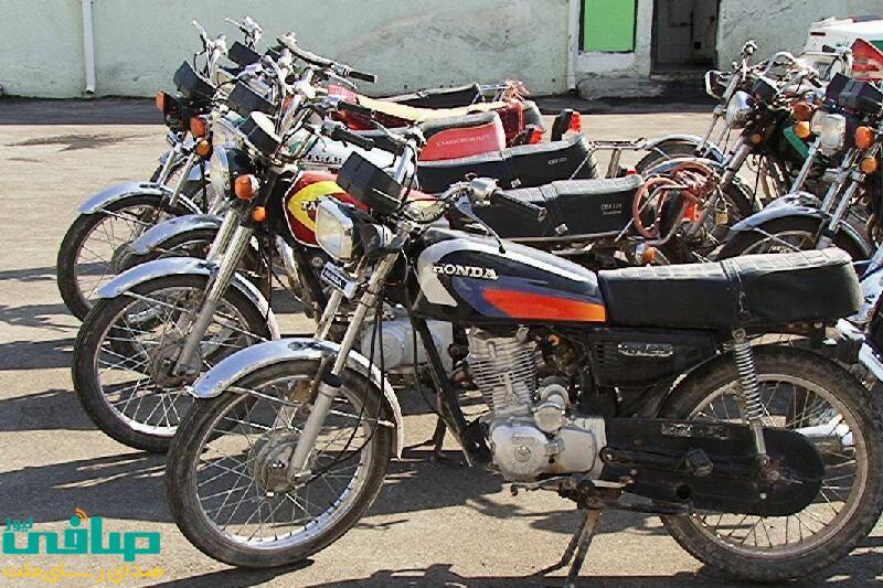 جمع آوری 78 معتاد و کشف موتور سیکلت های سرقتی در مراغه