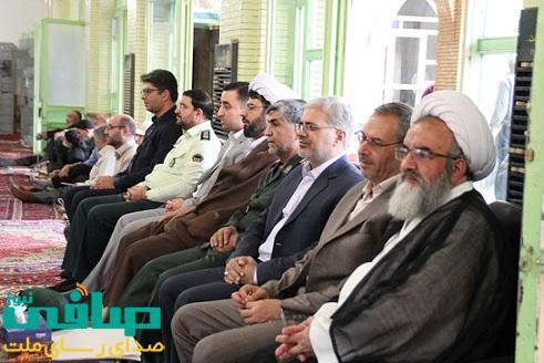 مراسم گرامیداشت شهید بهشتی و یارانش در مراغه برگزار شد