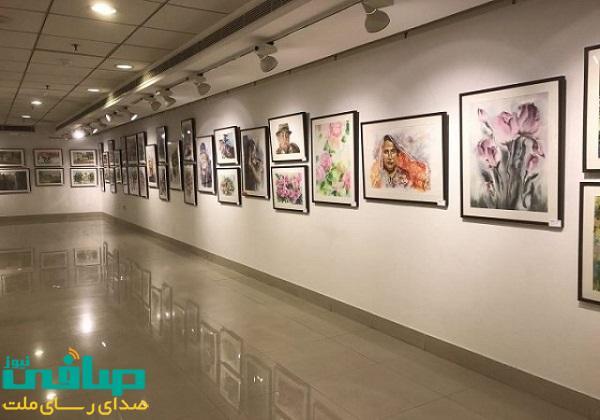 برپایی نمایشگاه گروهی نقاشی در مراغه