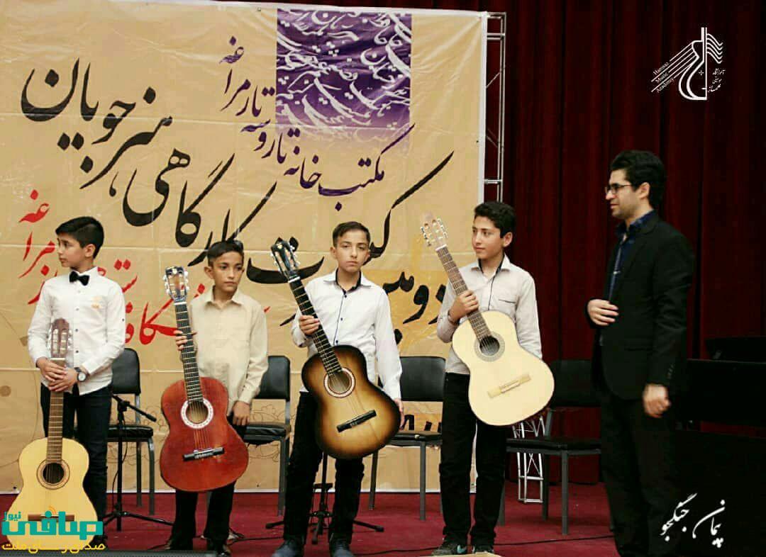 دومین اجرای صحنه ای کارگاهی هنرجویان آموزشگاه موسیقی همساز مراغه برگزار شد