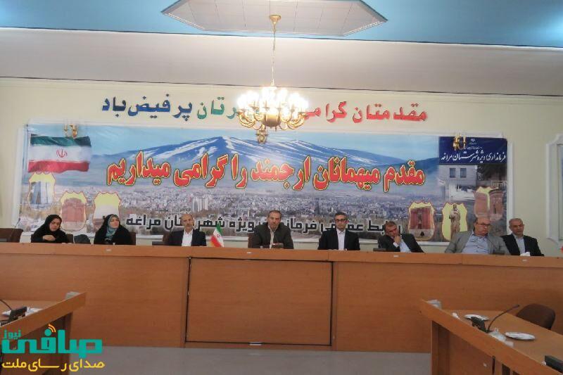 فرماندار مراغه: مشارکت نخبگان زمینهساز توسعه گردشگری است