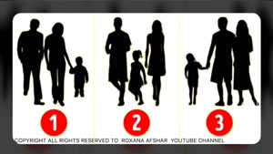 در این تست روانشناسی حدس بزنید کدام خانواده نیستند؟