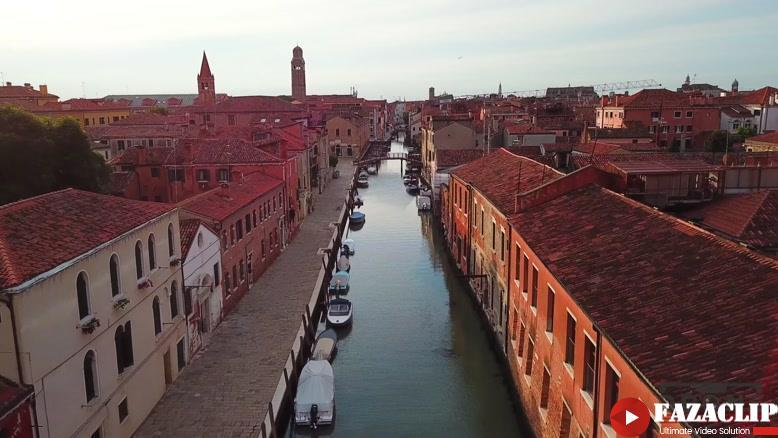 ویدیویی زیبا از ونیز ایتالیا شهری روی آب