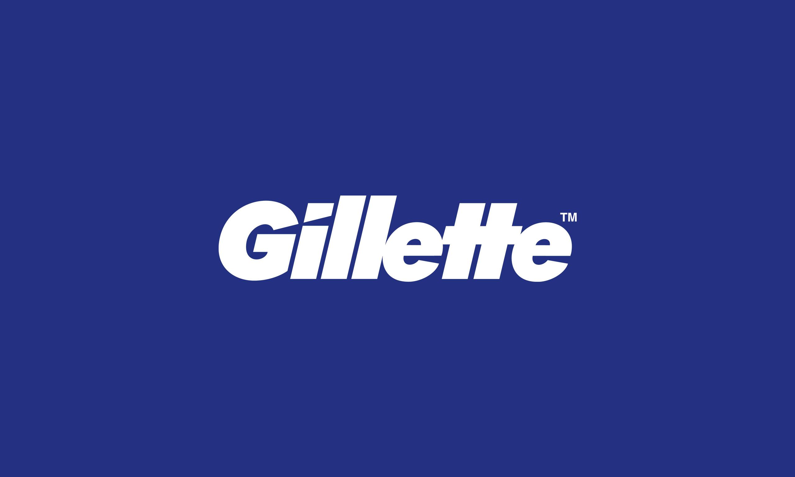 لوگوی Gillette