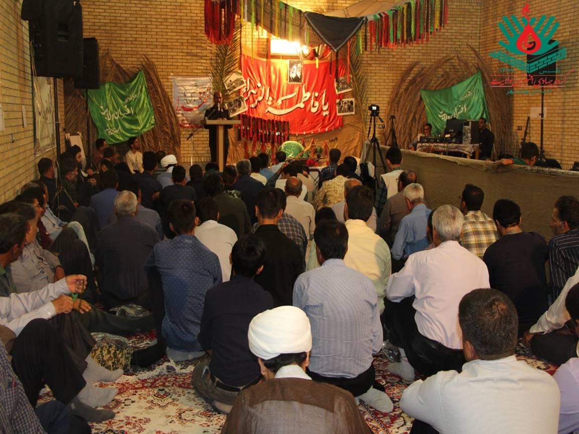 مراسم «شبی با شهدا» در شهر بوشکان برگزار شد+عکس