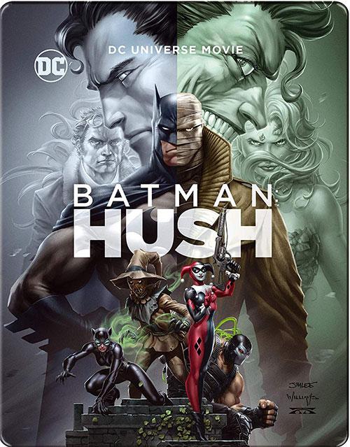 دانلود دوبله فارسی انیمیشن بتمن: هاش Batman: Hush 2019
