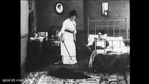 فیلم صامت (قماربازان) محصول سال 1914(چارلی چاپلین)