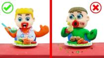 برنامه کودک جذاب : آداب غذا خوردن