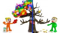 برنامه کودک جذاب : درخت رنگین کمانی