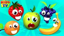 کلیپ شاد کودکانه میوه های خوشمزه