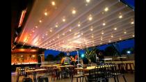 حقانی 093800339391-سقف متحرک رستوران-سقف برقی رستوران سنتی