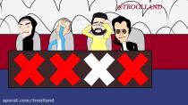 کتک خوردن داوران عصر جدید از پدر خشمگین ایرانی