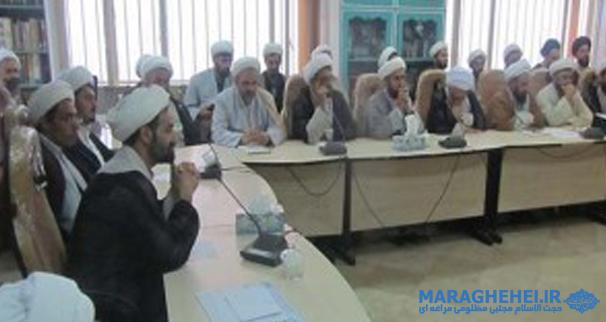 جلسه فصلی روحانیون مستقر استان آذربایجان شرقی برگزار شد