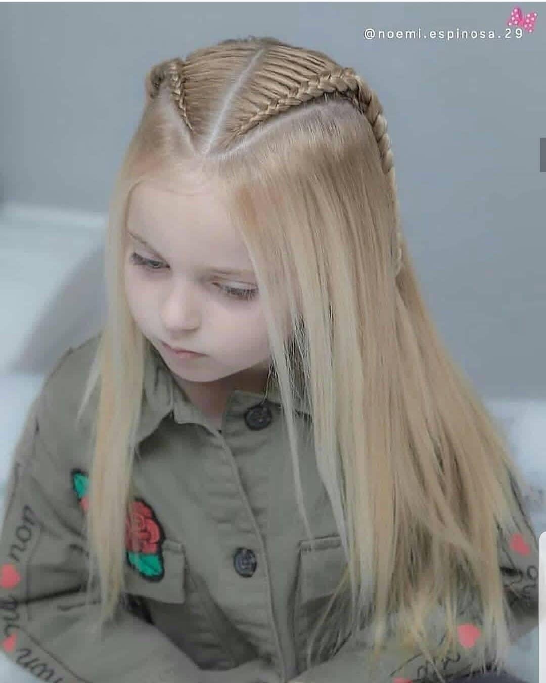مدل بافت مو دخترانه 2019