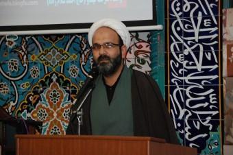 دیدار رئیس اداره تبلیغات اسلامی با روحانی مستقر روستای آهق