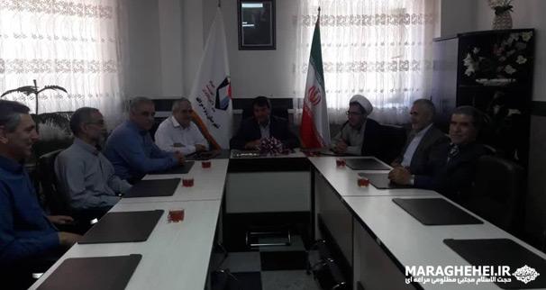 دیدار مدیرمسئول و ارکان کانون فرهنگی امام زمان (عج) با رئیس بنیاد شهید مراغه