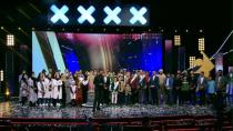 فاطمه عبادی برنده فینال عصر جدید - برنامه اعلام نتایج عصر جدید