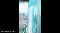 ساخت یک آبشار عجیب و خارق العاده در چین