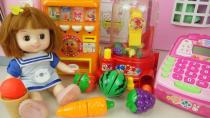 بازی کودکانه دخترانه عروسک کوچولو آموزش سبزیجات و میوه ها به انگلیسی