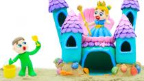کارتون شاد کودکانه قصر پرنسس السا