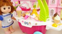 بازی کودکانه دخترانه عروسک کوچولو و درست کردن پاپ کورن