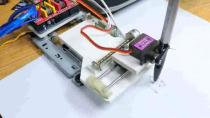چگونه یک ربات نقاش در خانه بسازیم ؟