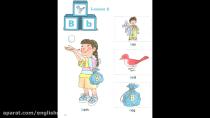 آموزش الفبای انگلیسی حرف B b