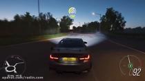 رانندگی با بی ام و m4 gts
