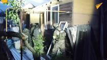 حمله نیروهای ویژه روسیه به خانه تروریست ها در شهر ولادیمیر روسیه
