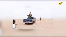 عملیات ارتش سوریه ضد هسته های مخفی داعش در صحرای حمص
