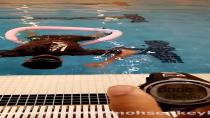 رکورد جدید حبس نفس محسن کیخا در آب بمدت ۸ دقیقه و ۴۵ ثانیه