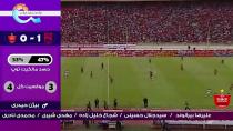 خلاصه بازی تراکتور ۱- ۰پرسپولیس (هفته دوم لیگ برتر ایران)