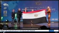 البطل عطية شعلان بطل العالم في كمال الاجسام عطيه شعلان