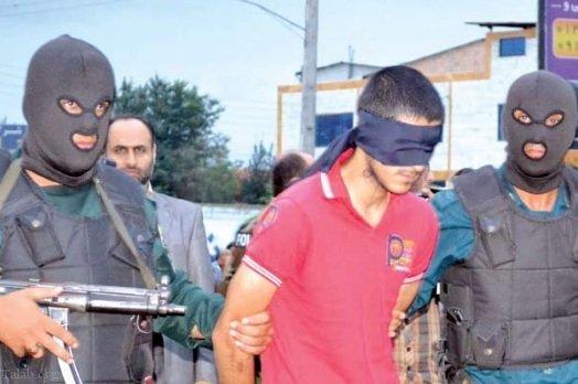 اعدام عرفان قلی نژاد , عکس اعدام عرفان قلی نژاد