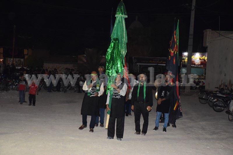 مراسم استقبال از ماه محرم روستای پاقلات