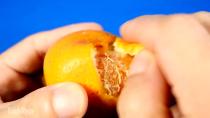 چند ترفند با پوست نارنجی