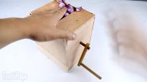 ایده ساخت دستگاه خلال سیر در خانه