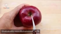 ۶ ترفند برای برش زدن میوه ها به اشکال جالب.