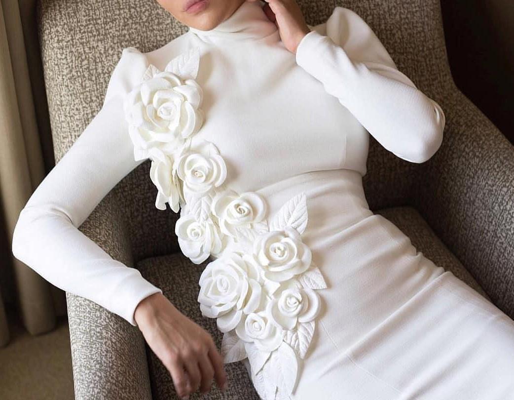 مدل لباس عروس بلند و شیک 98