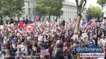 گسترش اعتراضها به تعلیق مجلس انگلیس